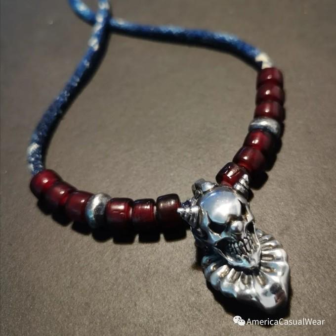 【ACW评测】小丑回魂!简评F.A.L Sliver Pierrot Skull小丑银饰吊坠