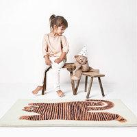 适合儿童房的可爱地毯,小奶猫般的亲肤柔软,一擦即净~