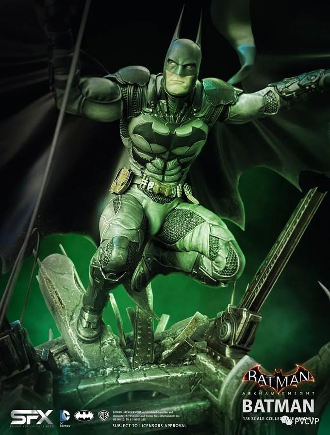 玩模总动员:银狐收藏品推出《阿卡姆》系列蝙蝠侠1/8雕像