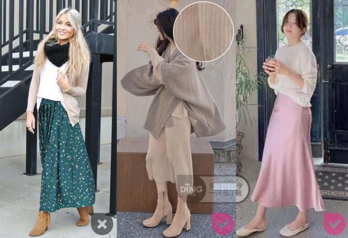 冬天穿裙子如何暖和又时髦?3个技巧从选款到搭配都帮你想好啦!