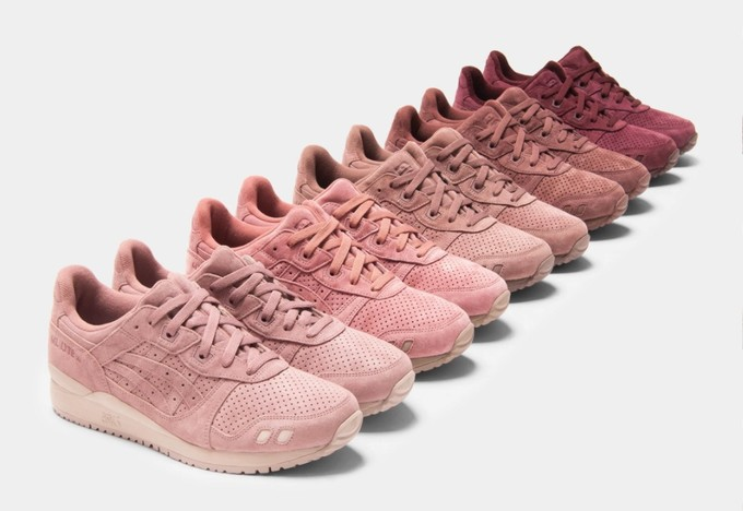 "30款不同配色:Ronnie Fieg x ASICS Gel Lyte III ""The Palette"" 联名球鞋 即将发售"