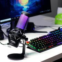 RGB加成,HyperX 声浪加强版专业麦克风一台搞定你的录音需求