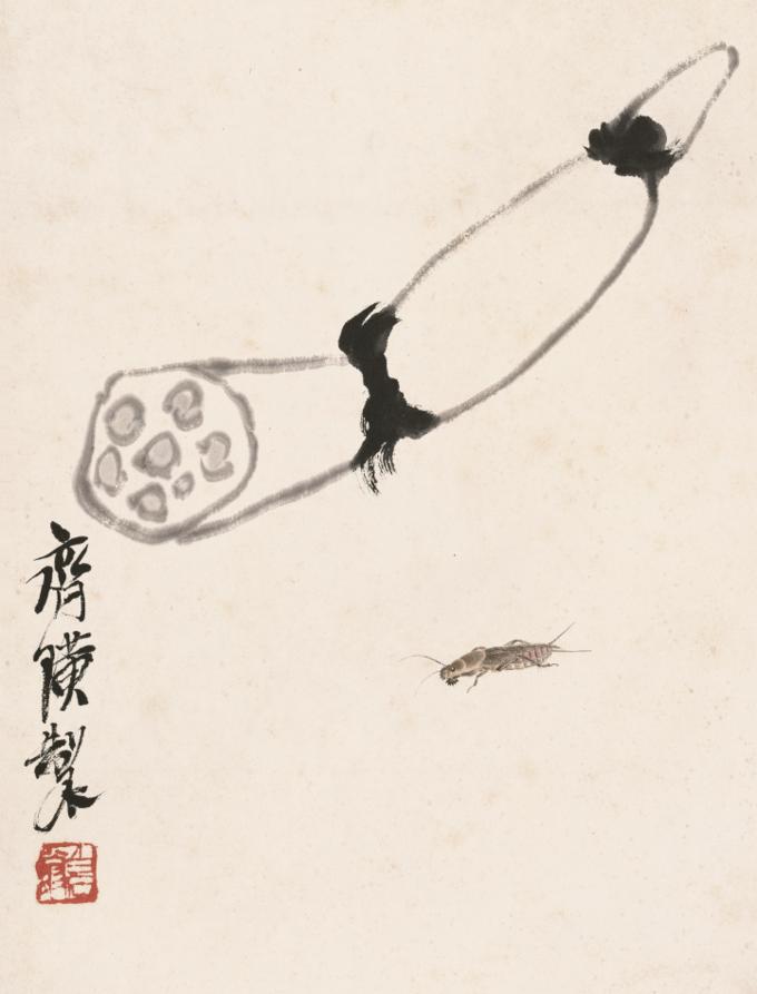 """北京画院藏齐白石花鸟画集体亮相苏博,读懂这些吉祥""""暗语"""""""