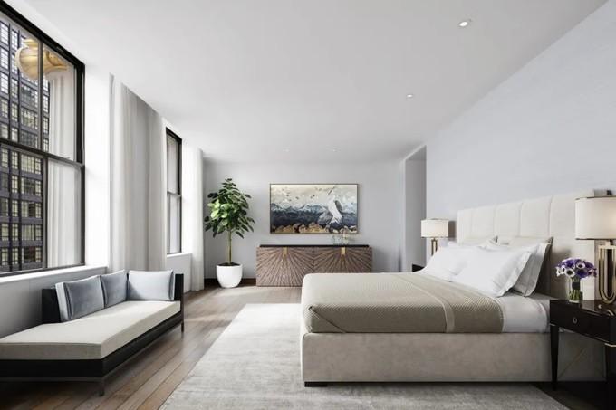 42万一平的大平层!纽约最细地标样板房公开,这才是真正的顶级豪宅!