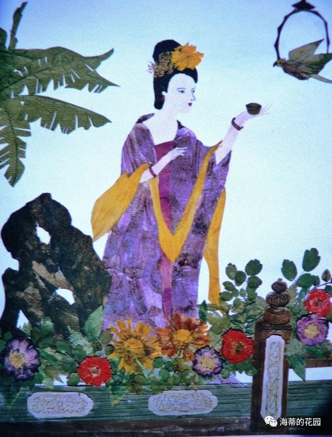 70后四川姐姐用寻常干花,创作无数精美画作,留住美好