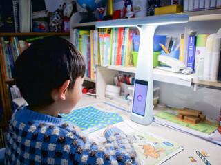 大力智能灯好给力!陪娃做作业的智能好帮手