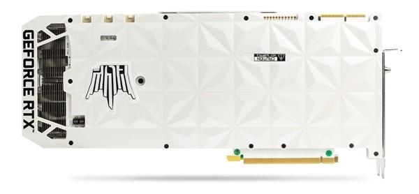 """影驰发布白色版RTX 3090 HOF显卡,延续纯白设计、还配1个""""平板"""""""