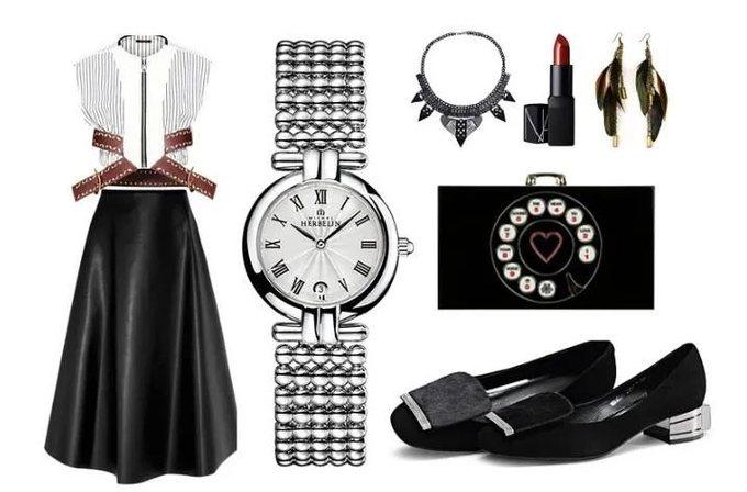看一个男人的品味,就看他身边的女人戴什么表