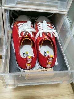抽屉收纳盒做鞋盒,太奢侈了吧
