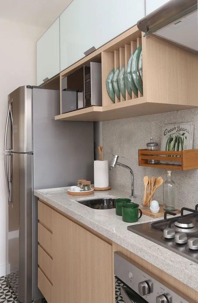 日本、欧美主妇最爱的橱柜设计!吊柜下10cm加装置物架,收纳、做饭效率大翻倍!