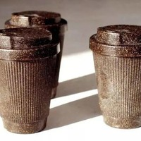 你的咖啡杯是咖啡渣做的吗?
