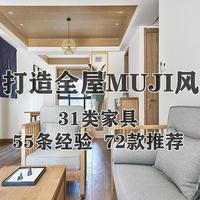 老破小变形记 篇三:如何花最少的钱打造全屋MUJI风?选购31类实木家具你必须知道的55条