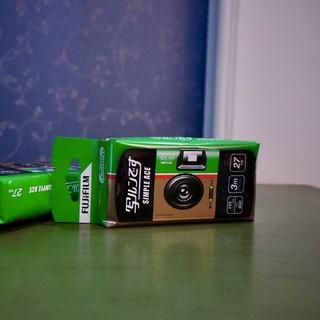 富士一次性胶片相机有趣很好玩