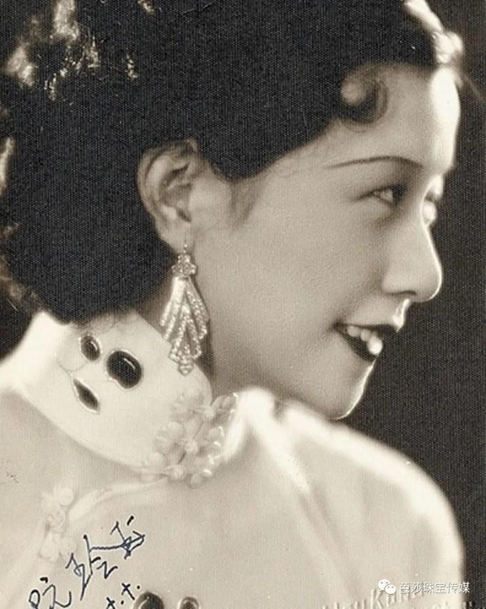 景甜《司藤》复古造型火出圈,民国时的珠宝美人我爱了!