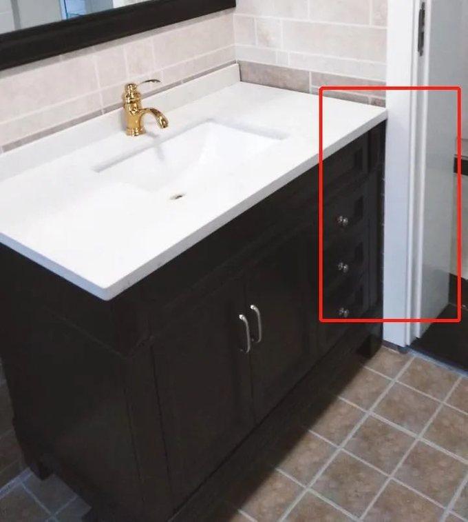 总结了群友买浴室柜的血泪史,这一个误区你千万别踩!