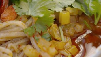 它承包了宁夏中卫人的早餐幸福,蒿子面的制作方法来了!