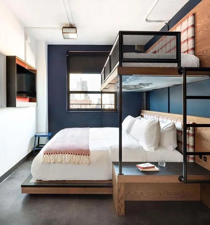 高低床,小户型卧室扩容的第一把交椅!送上装修正解及30款精彩设计,太赚了