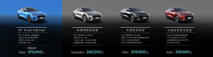 新车速递:福特Mustang Mach-E正式上市,售价26.5万起,变成了电动SUV的野马你喜欢吗?