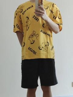晒晒我买的新疆棉T恤