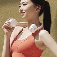 小米有品众筹智能挂脖风扇,造型酷似头戴式耳机