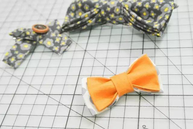 超详细DIY亲子造型:为宝宝亲手做发饰和领结