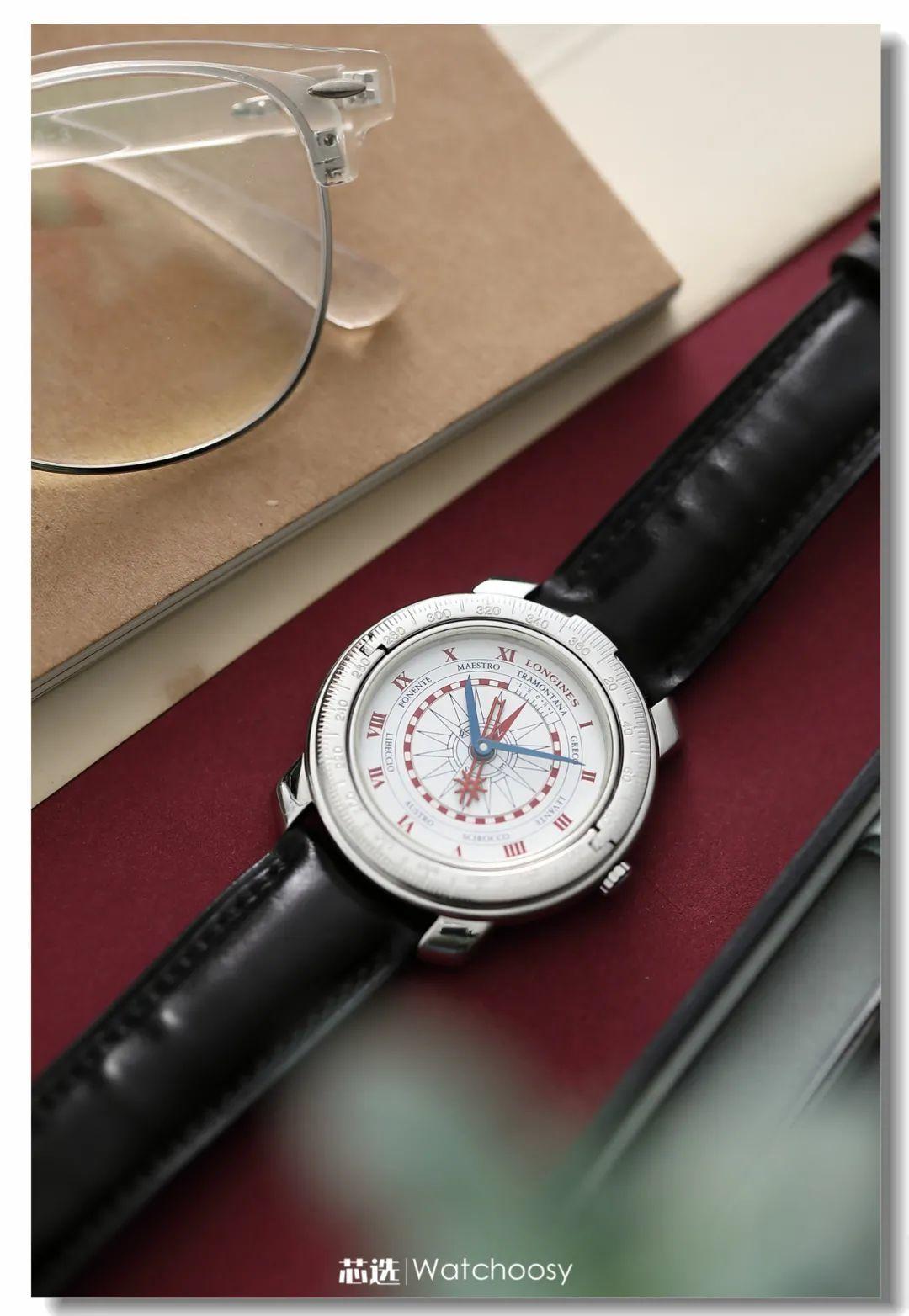 """浪琴""""哥伦布"""",可以当指南针的手表!"""