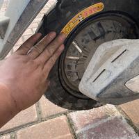 动手换一个电动车(真空)轮胎