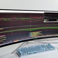 2021年带鱼屏选哪一款?49英寸ANT491UC超大屏,144Hz刷新率+宽景分屏更显省心